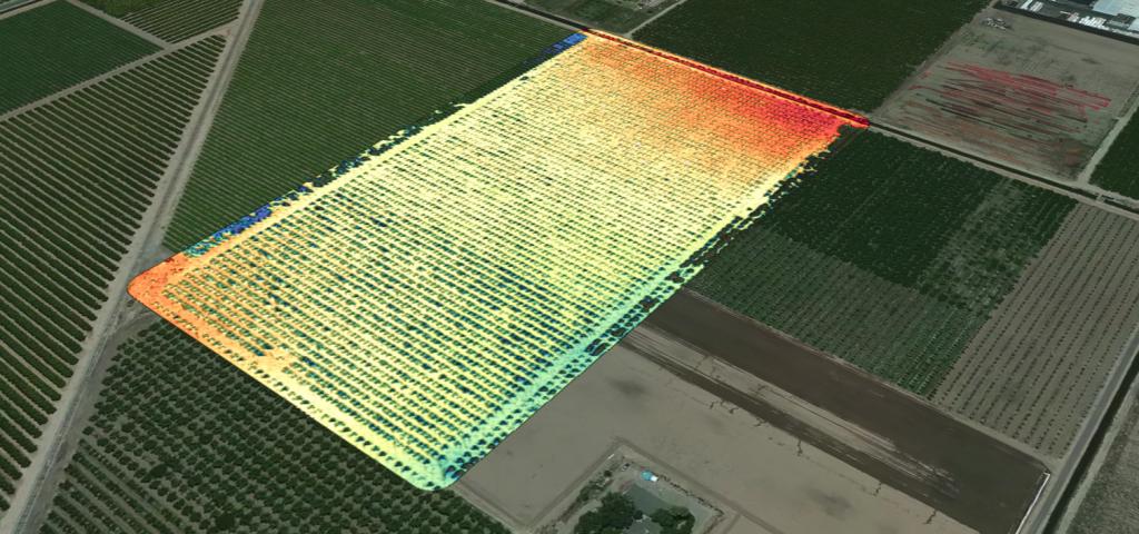 RedEdge-M Digital Surface Model