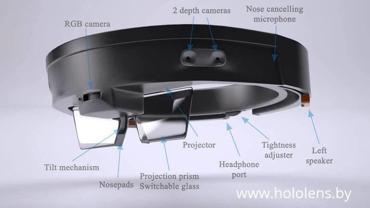 Drone with combination HoloLens 2   AEROMOTUS