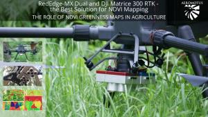 ndvi-mapping matrice 300 rtk