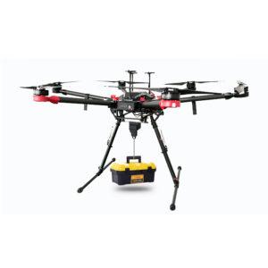 DJI Matrice 600 Pro drone drop release drop hook