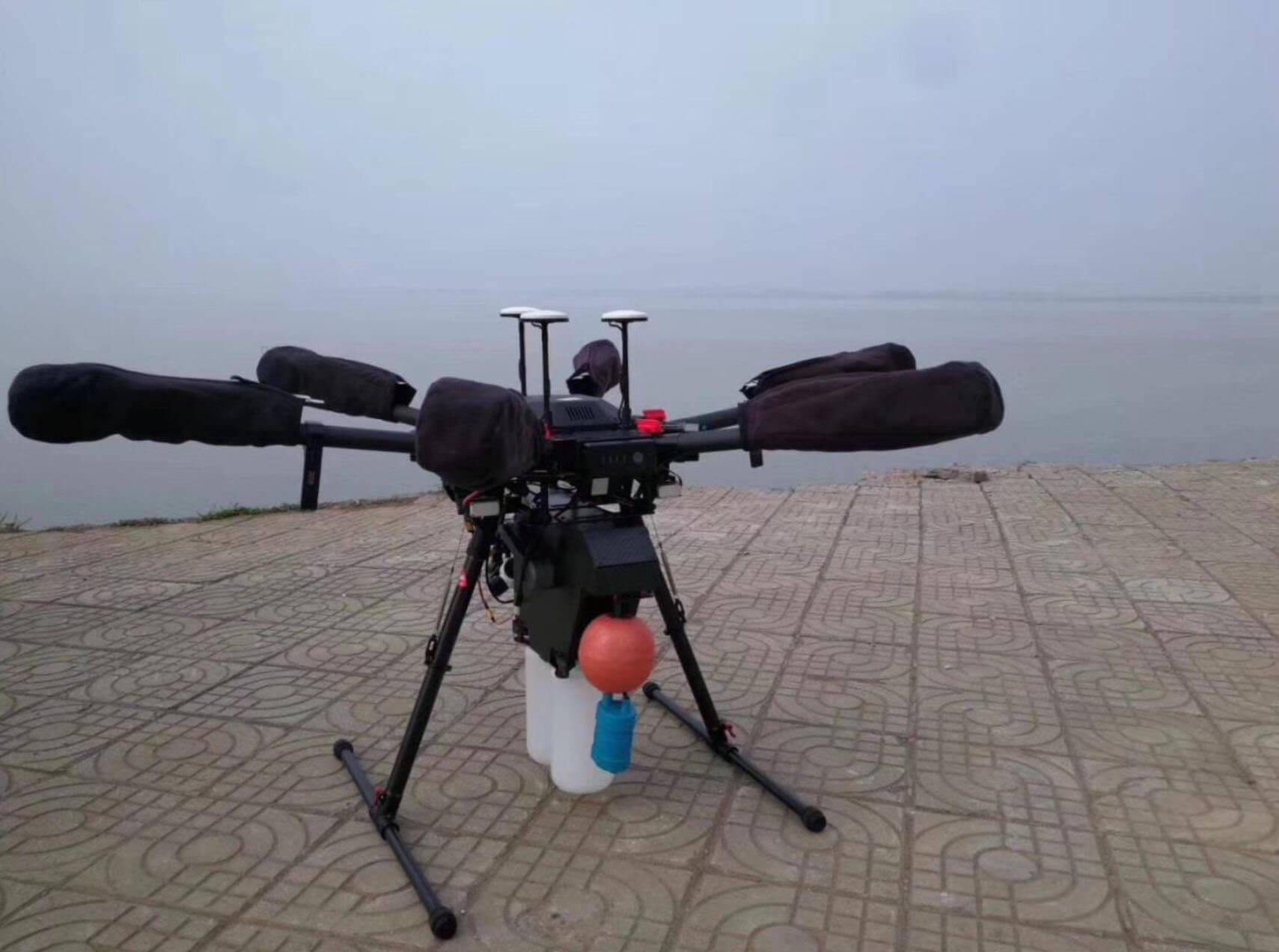 drone water sampling device