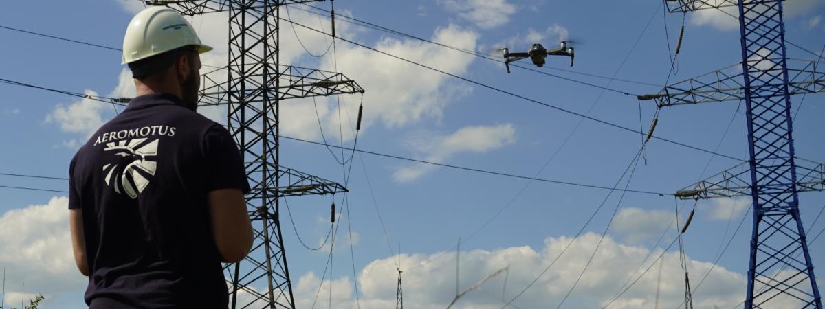 powerlines uav inspection dubai